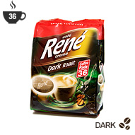 Senseo Coffee Pods by Cafe Rene - Dark Roast