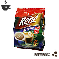 Senseo Coffee Pods by Cafe Rene - Espresso Roast