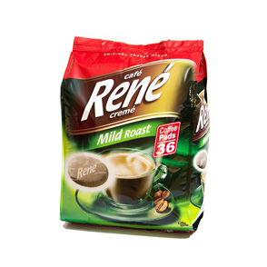 Senseo Coffee Pods by Cafe Rene - Mild Roast