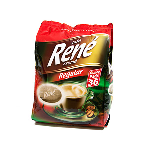 Senseo Coffee Pods by Cafe Rene - Regular Roast