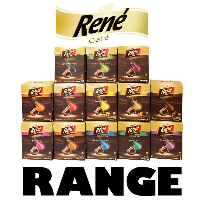 Range of cafe rene 39 s capsules for nespresso - Range capsule nespresso mural ...