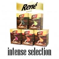 cafe rene 50 intense nespresso compatible capsules