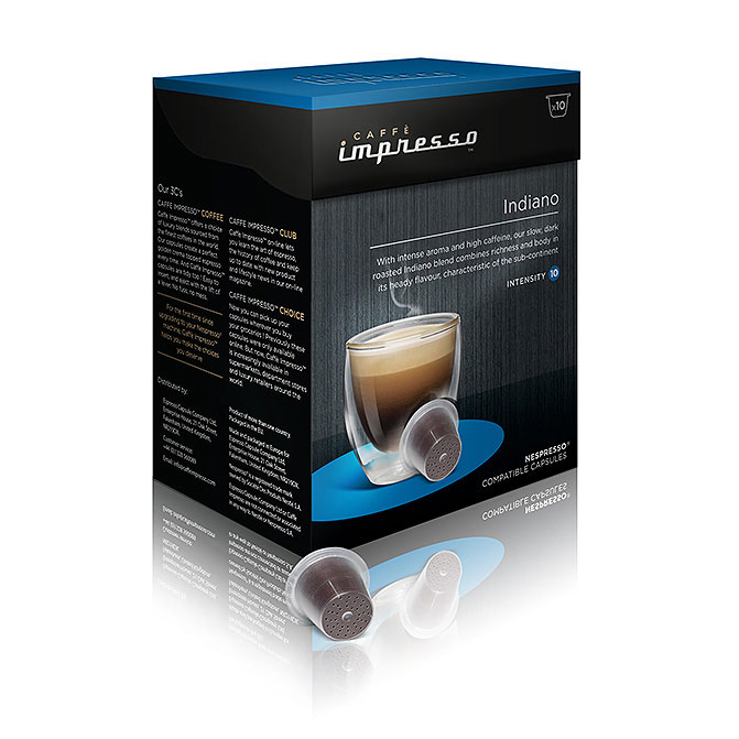 range of caff impresso 39 s nespresso compatible capsules. Black Bedroom Furniture Sets. Home Design Ideas