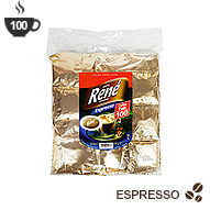 Senseo Coffee Pods by Cafe Rene - Espresso