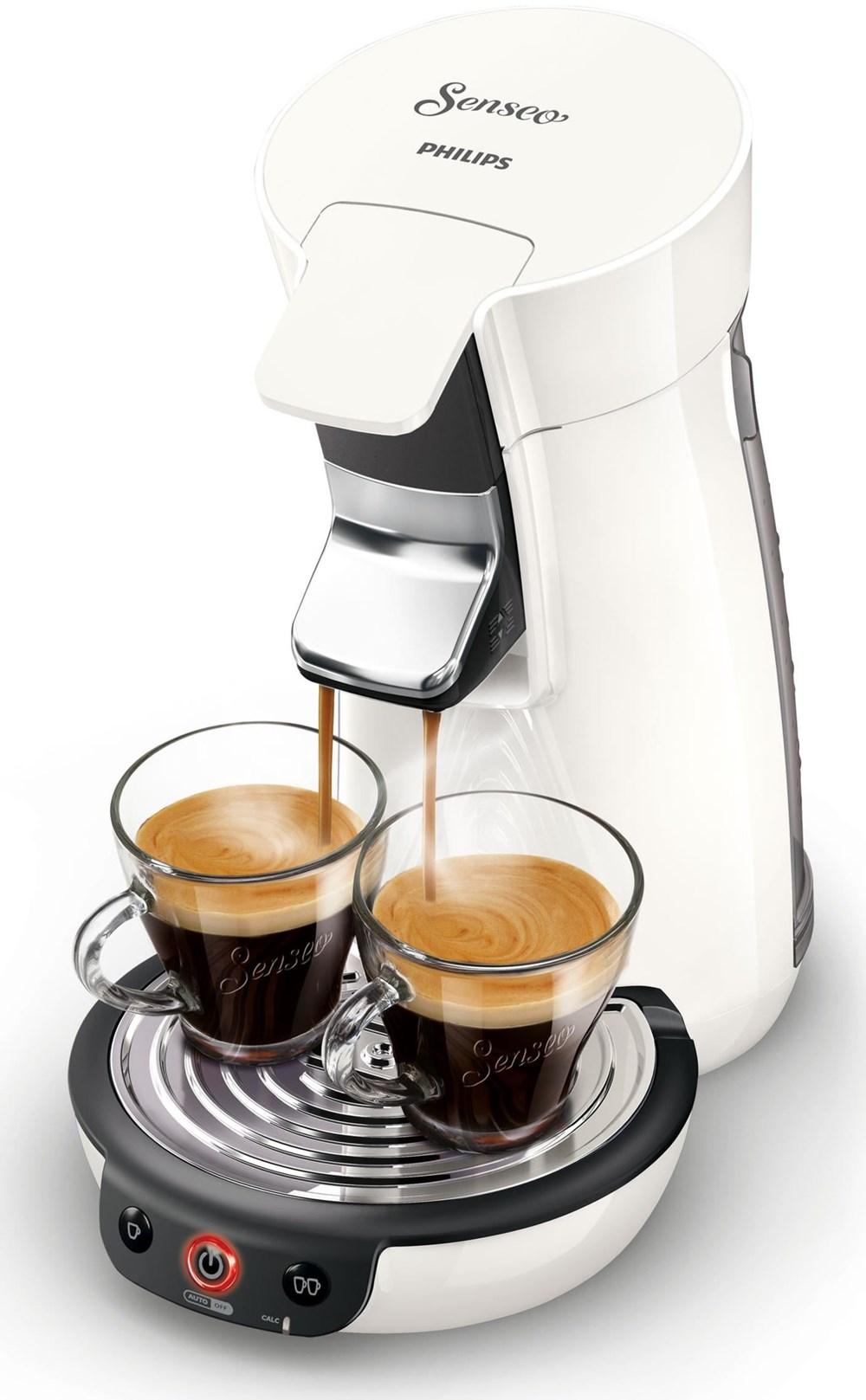 philips senseo viva caf coffee pod machine hd7829 white. Black Bedroom Furniture Sets. Home Design Ideas