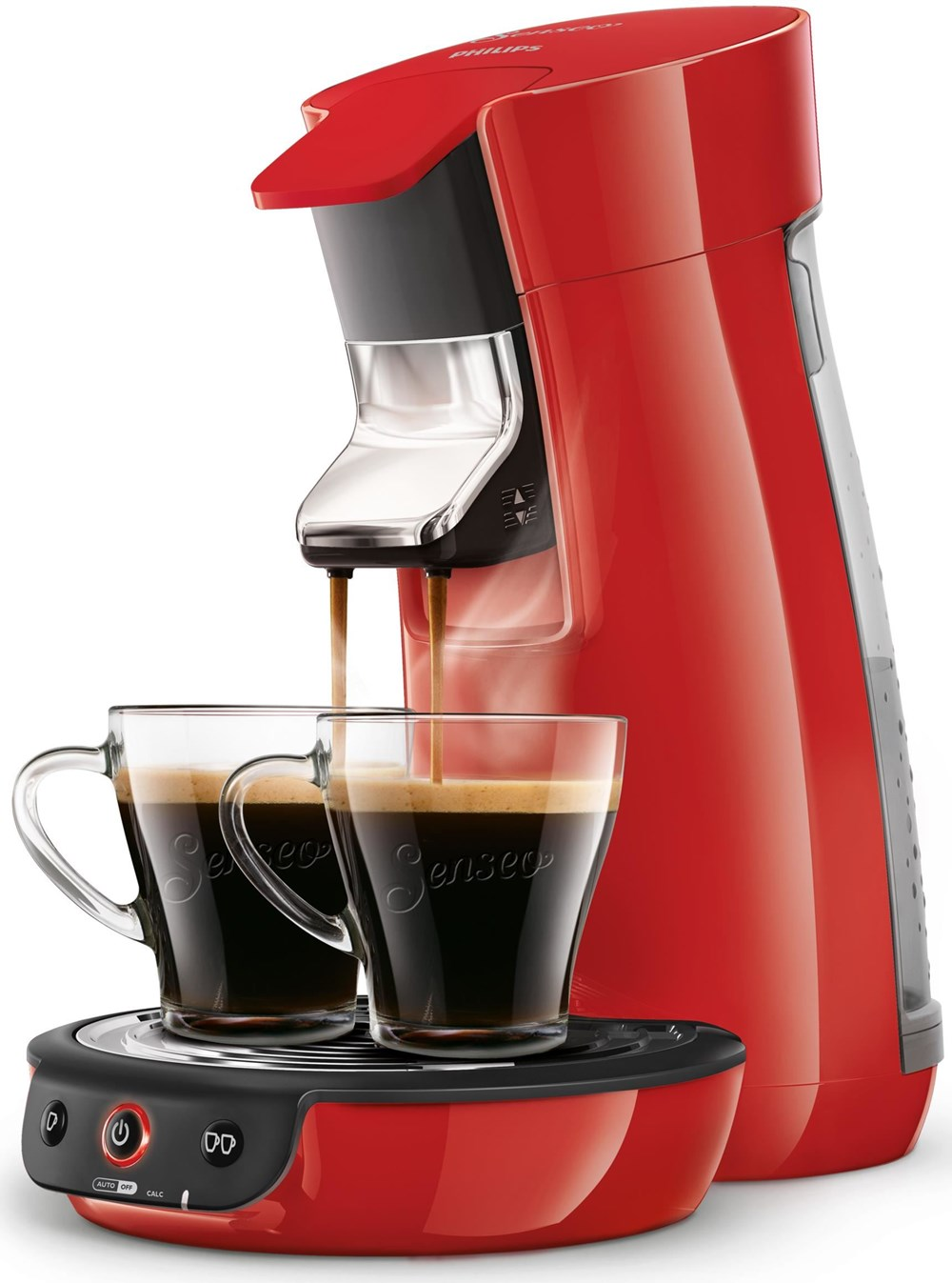 philips senseo viva caf coffee pod machine hd7829 red. Black Bedroom Furniture Sets. Home Design Ideas