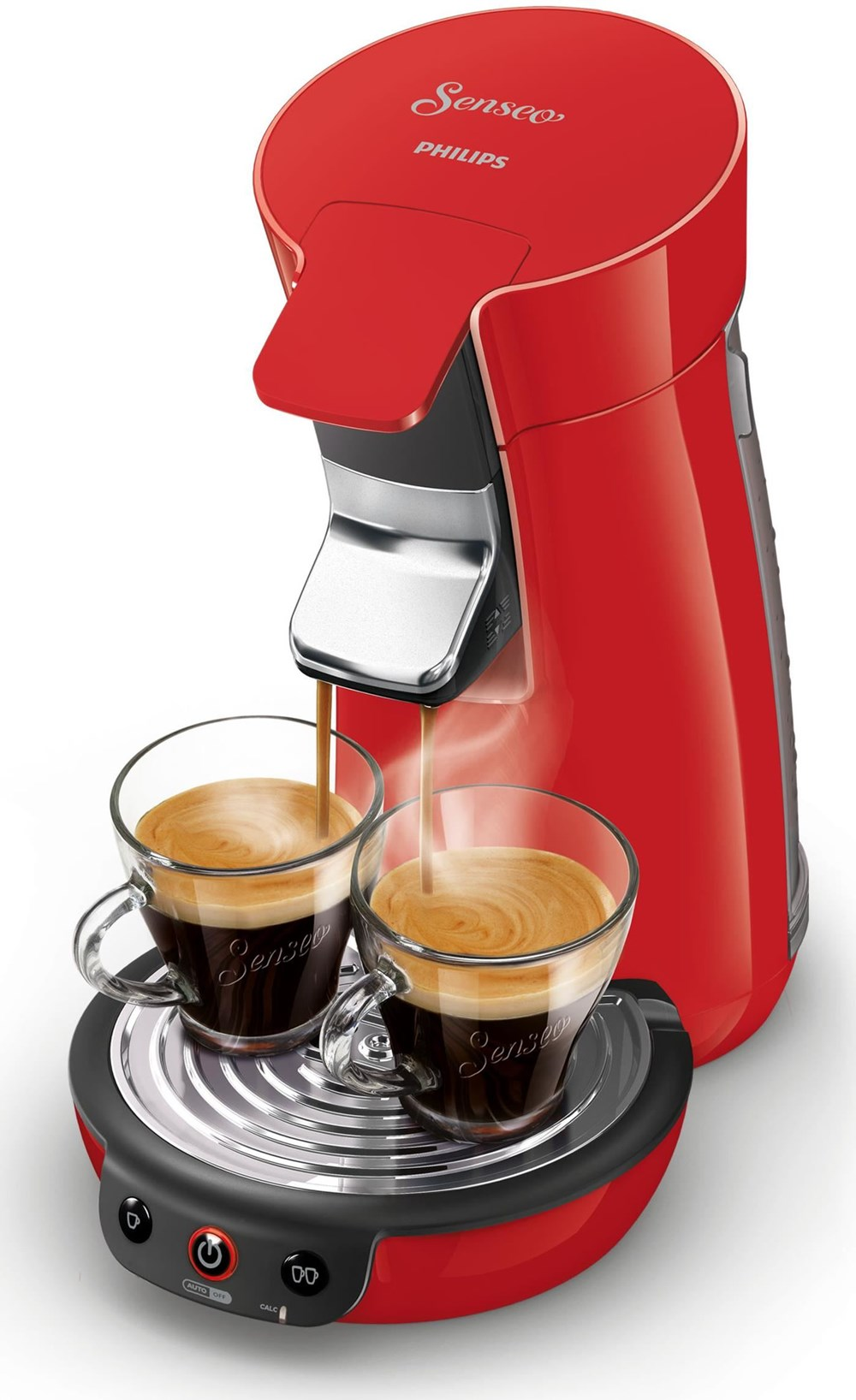 philips senseo viva caf coffee pod machine hd7829 red. Black Bedroom Furniture Sets. Home Design Ideas
