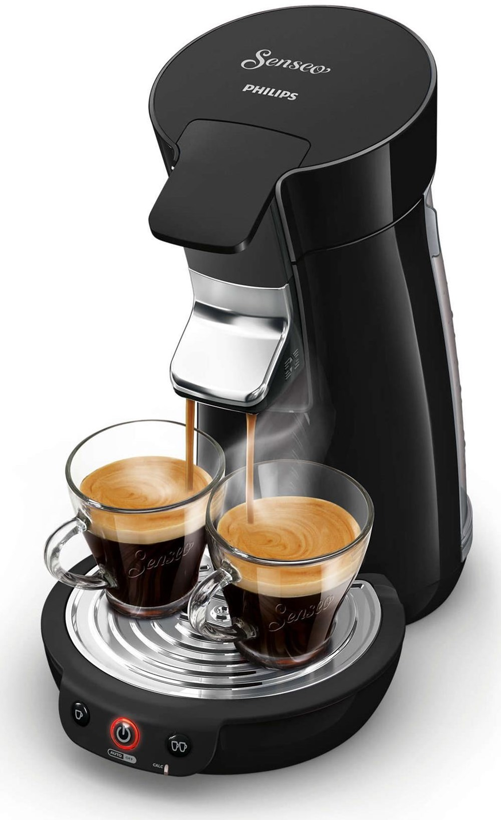 philips senseo viva caf coffee pod machine hd7829 black. Black Bedroom Furniture Sets. Home Design Ideas