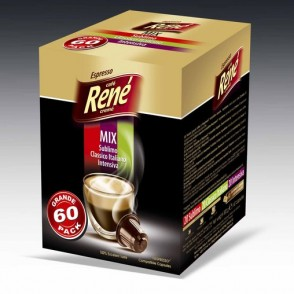 Cafe Rene - MIX - Coffee Capsules for Nespresso