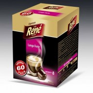 Cafe Rene - Lungo Forte - Coffee Capsules for Nespresso