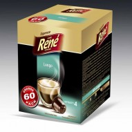 Cafe Rene - Lungo - Coffee Capsules for Nespresso