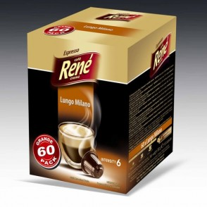 Cafe Rene - Lungo Milano - Coffee Capsules for Nespresso