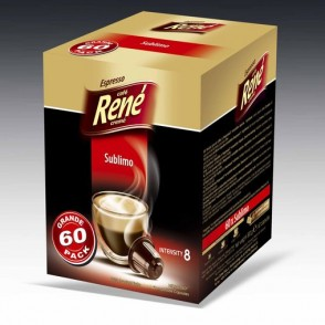 Cafe Rene - Sublimo - Coffee Capsules for Nespresso
