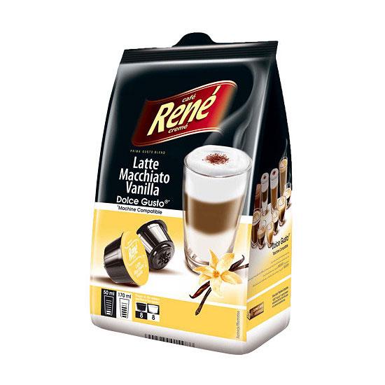 dolce gusto latte macchiato vanilla compatible pods by. Black Bedroom Furniture Sets. Home Design Ideas
